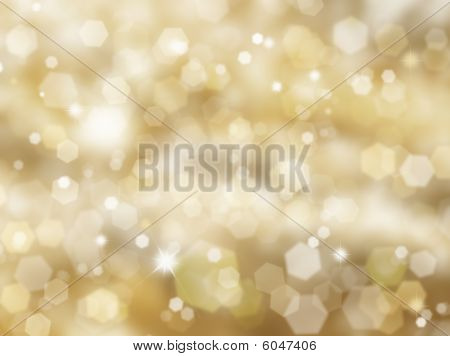 Glittery Gold Background