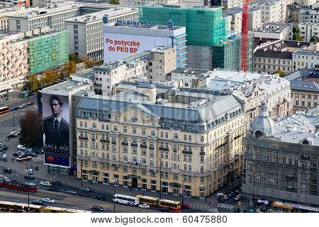 Warsaw City, Polonia Palace Hotel