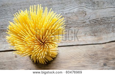 A Bunch Of Spaghetti: Top View
