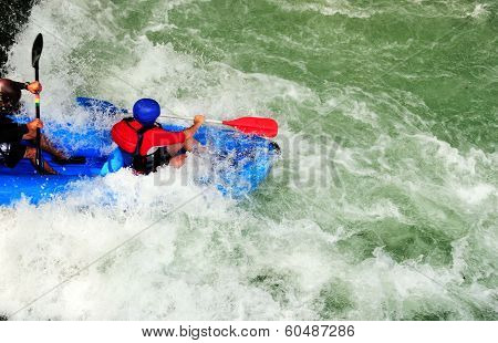 Riding The Rapids