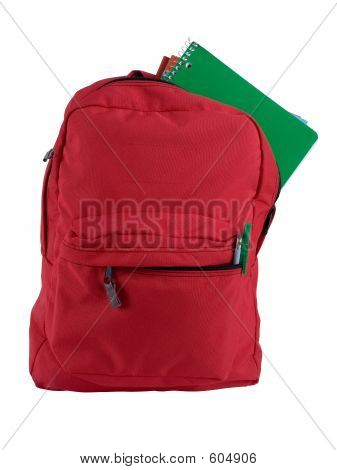 Isolated Backpack