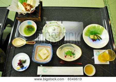 Traditional, Full Course Japanese Meal