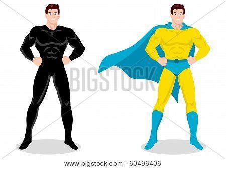 Superhero Posing