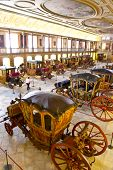 Lisbon, Portugal - June 18, 2013: Museu dos Coches (Coach Museum) the most visited museum in Portuga