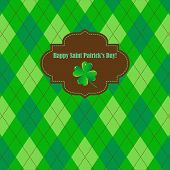picture of shamrock  - Saint Patrick - JPG