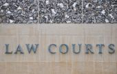 Law Courts Sign On Wall