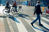 Amsterdam Crossing Street