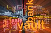Bank Vault Word Cloud Box Package