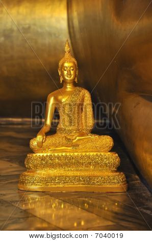 Gold Small Buddha Statue