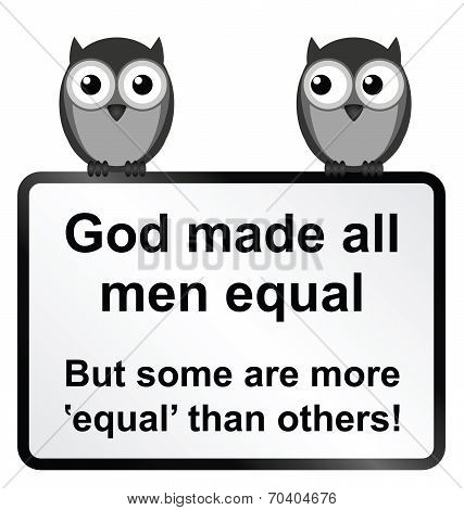 All men equal