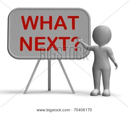 What Next Whiteboard Means Following Procedures Or Planning
