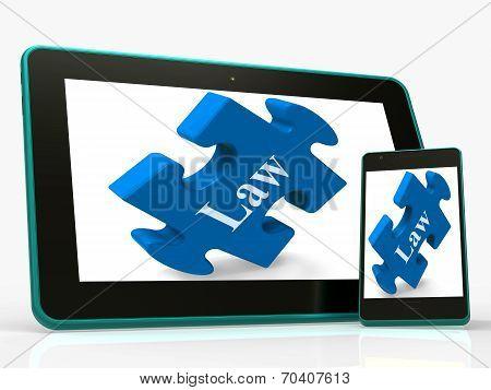 Law Smartphone Means Legislation And Justice Information Online