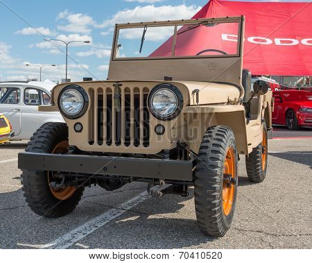 Willys Jeep At The Woodward Dream Cruise