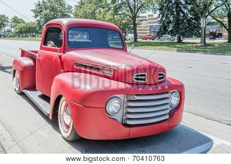 1940s Ford Truck At The Woodward Dream Cruise