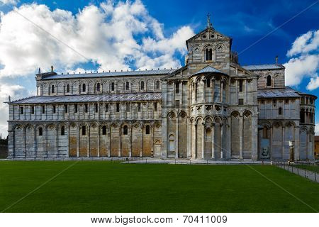 Dome of Pisa, Tuscany, Italy