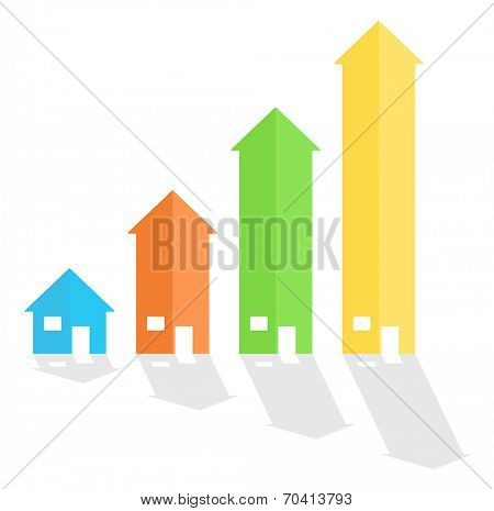 House arrow graph chart diagram