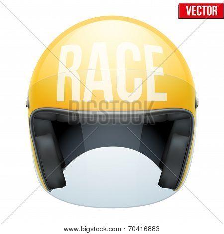 High quality racing motorcycle helmet.