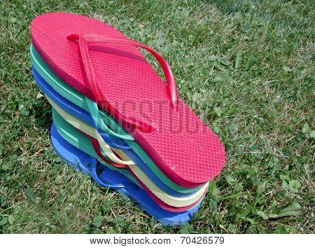 Flip-flop Pile