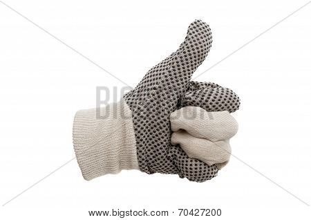 Work Gloves Isolated
