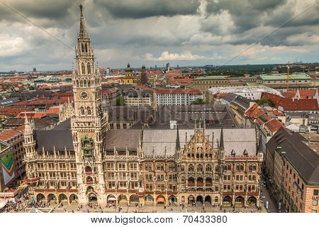 Main Square of Munich Germany