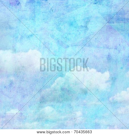 Vintage Background Sky