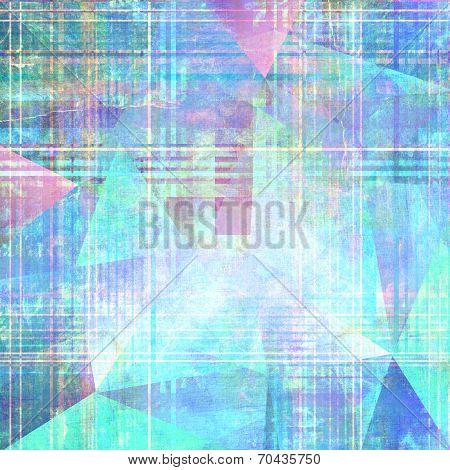 Abstract Background With Stripes And Triangles