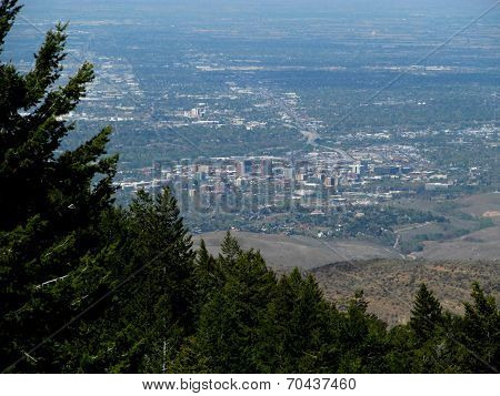 View of Boise Idaho
