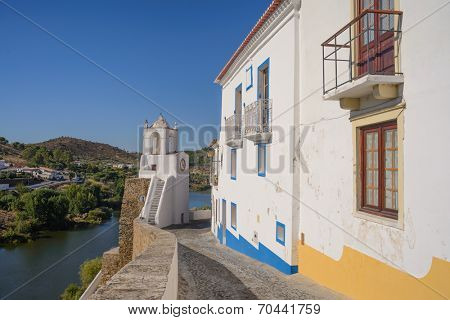 Mertola, a small town in Alentejo region, Portugal, Europe