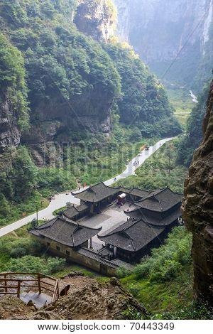 Tienfu Penthouse at Wulong National Park, Chongqing, China