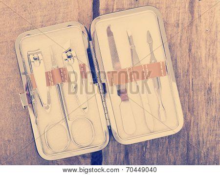 Nail Scissors Kit Vintage