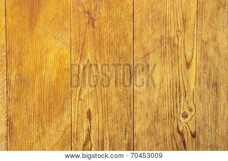 Lacquered Wooden Wall