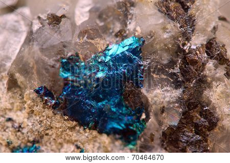 Abstract Background From A Metal Mineral.