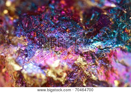 Abstract Background From A Metal Mineral