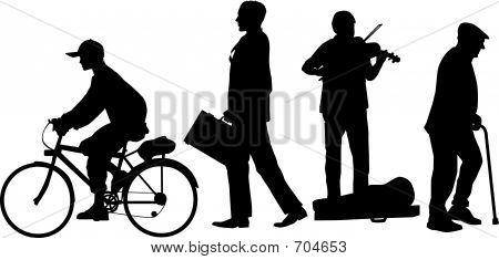Grupo de canto de rua