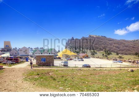 Settlement On The Top Of Mountain Ai-petri