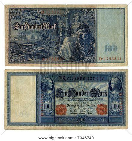 100 German Reichsmark