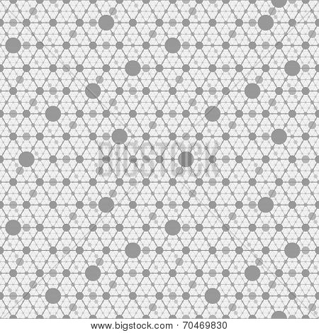 network gray background