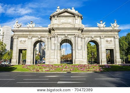 The Puerta De Alcala, Madrid