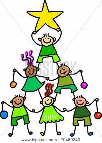 Christmas Tree Kids
