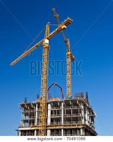 Construction Of A High Rise Building