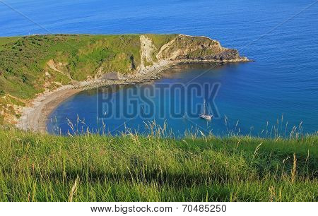 Beautiful Lulworth Cove, Dorset