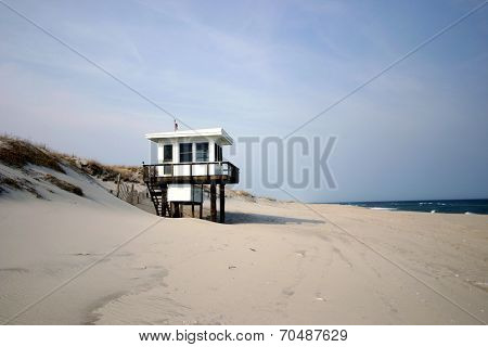 Lifeguard Shed - Jersey Shore