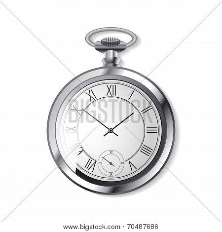 vector alarm arrow clock