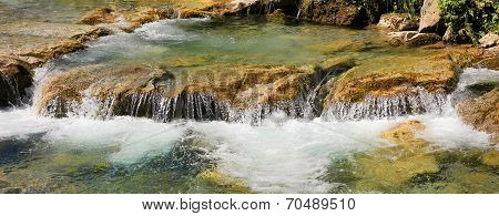 Mountain Creek With Cascades, Upper Bavaria