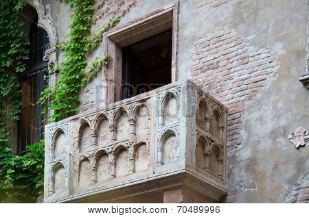 Balcony Of Juliet And Romeo