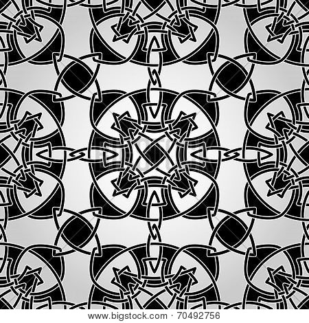 Vector Celtic Seamless Pattern