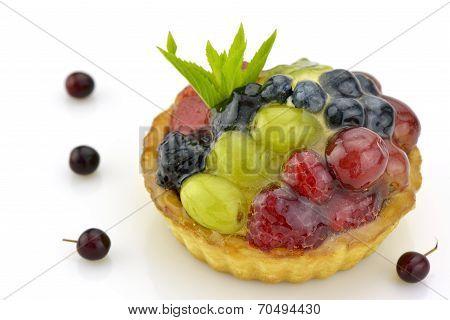 Colorful Fruit Tartlet