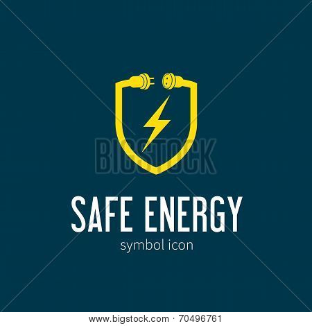 Safe Energy With Blizzard Vector