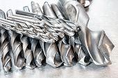image of drill bit  - Metal drill bits - JPG