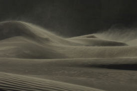 picture of sandstorms  - Desert at Night - JPG